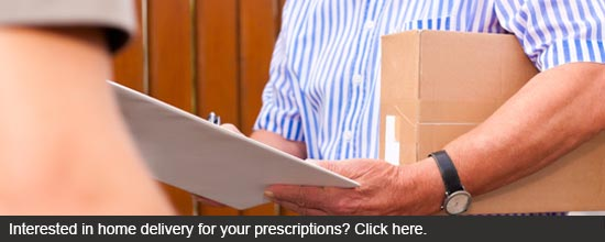 Interested in home delivery for your prescriptions? Call 410-601-7100.