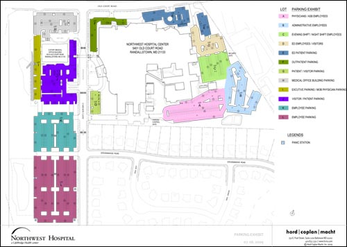 Northwest Hospital Parking Map (PDF)