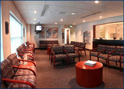 Krieger Eye Institute Waiting Room