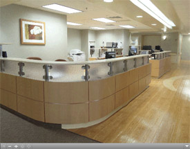 Neuroscience Center Nursing Station Virtual Tour