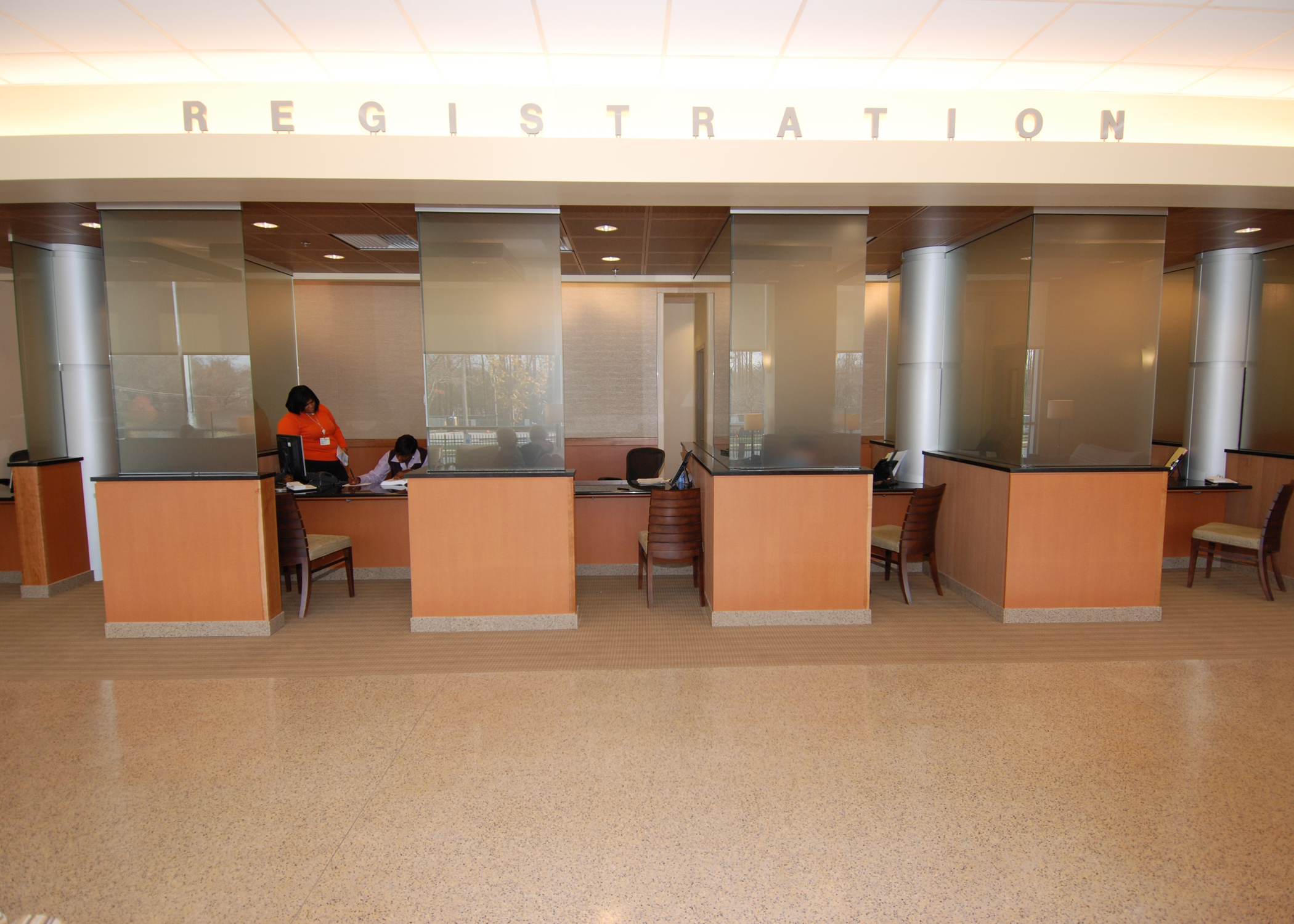Outpatient Registration Area